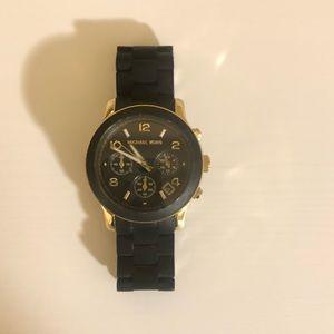 Black Michael Kors Watch
